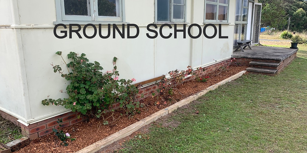 Ground School Saturday 27th June 2pm