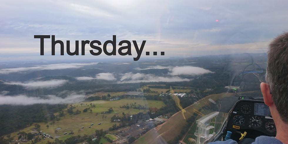 Flying Thursday 5th November