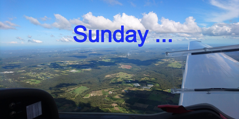 Flying Sunday 11th April 2021