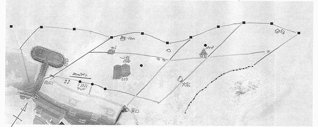平沢ビーチ水中マップ