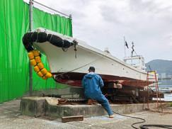 【6月8日】ボートメンテナンス