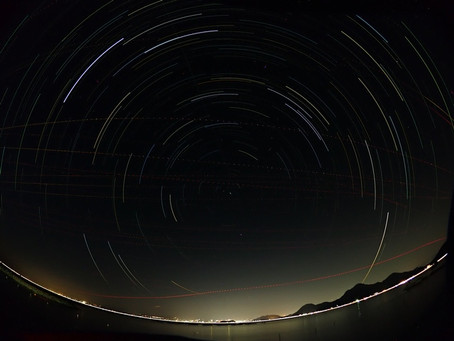 沼津の夜空