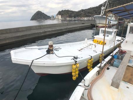 新たなダイビングボート