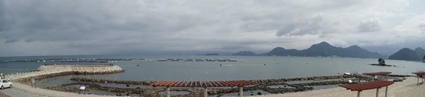 平沢エリア内の浮き桟橋の場所