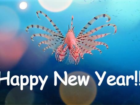【1月4日】謹賀新年