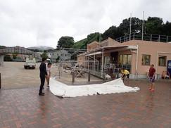 台風15号上陸直前