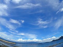 【7月16日】夏の空に青い海♪