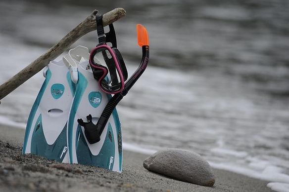 ダイビングのレンタル器材