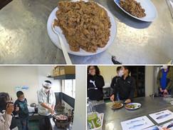 【10月17日】地元の郷土料理「うずわみそ」