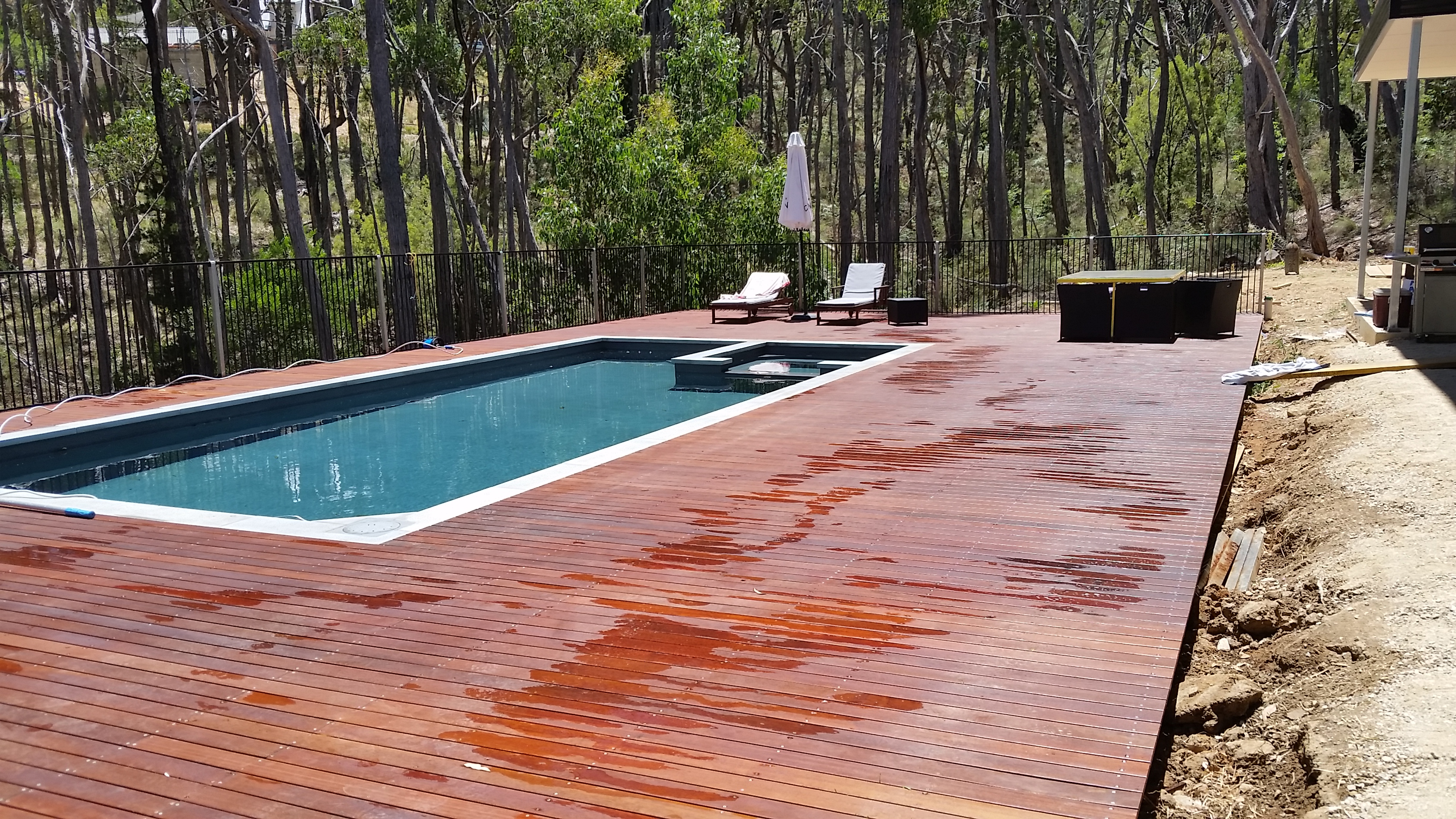 New Deck for this impressive pool