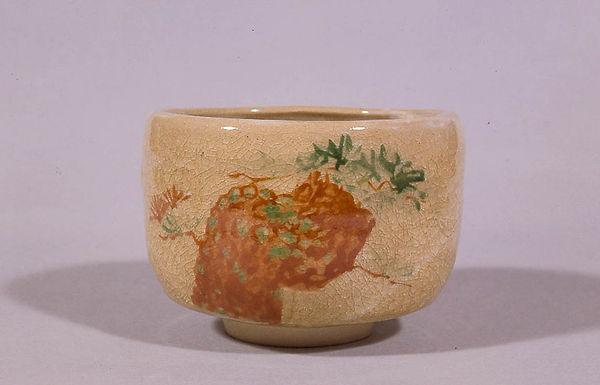 23 三代 陶「茶碗・松の図」.jpg