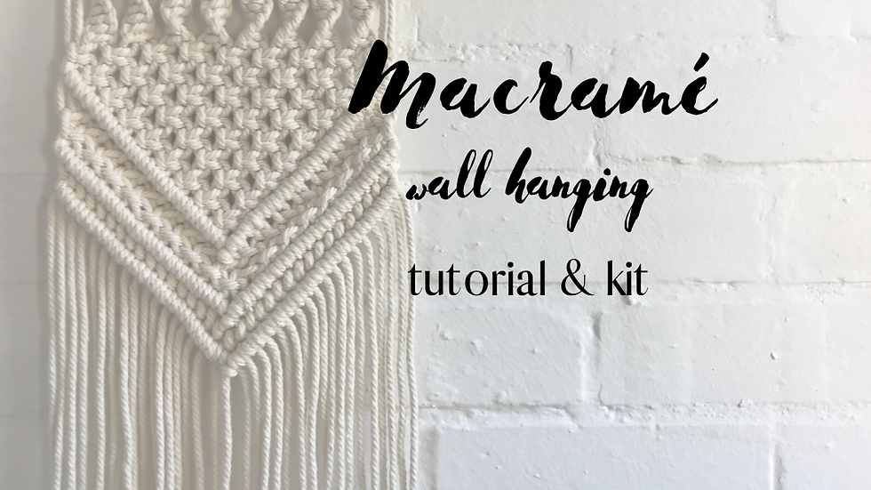 DIY Wall Hanging Kit