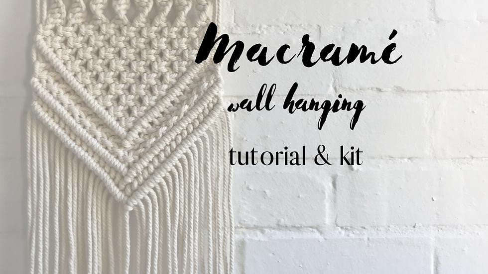 Wall Hanging DIY Kit