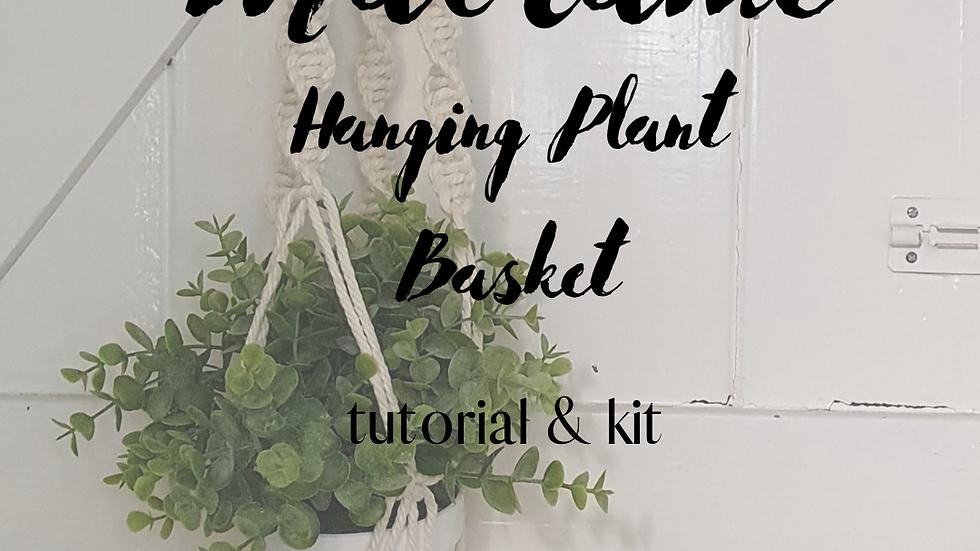 Mother's Day Hanging Plant Basket DIY Kit for 2