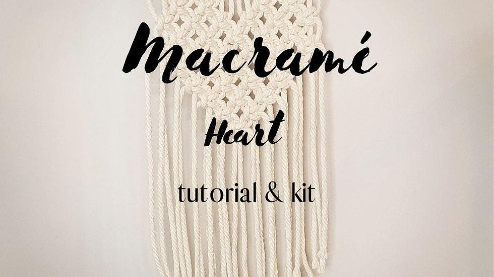 DIY Heart Wall Hanging Kit