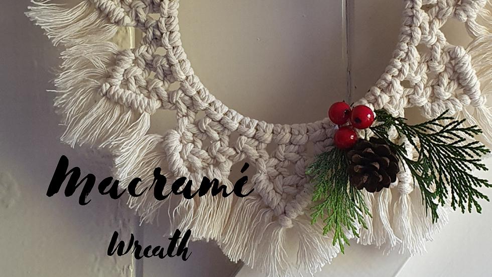Digital Christmas Wreath Tutorial