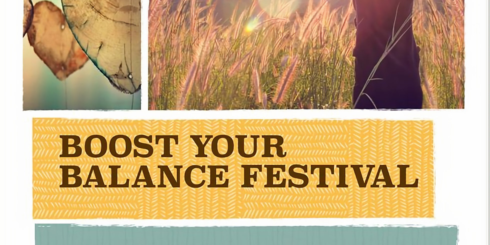 Boost your Balance festival