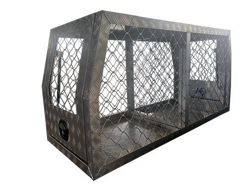 Dog Box Full Mesh 700mm - Checker or Flat