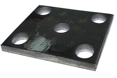 Fish Plate 45-50mm Black