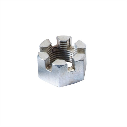 Axle Slotted Nut 1""