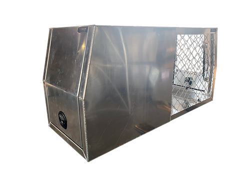Dog Cage Half Canopy 700mm - checker or flat