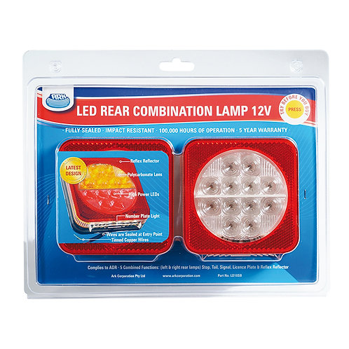LED Rear Combination Lamp Set of 2