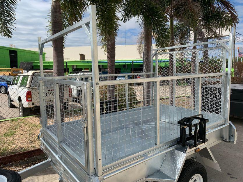 titanium 7x5 box trailer