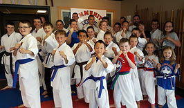 Karate classes for families