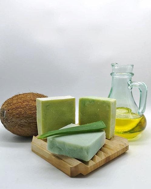 Doğal Aloe Vera yağlı sabun