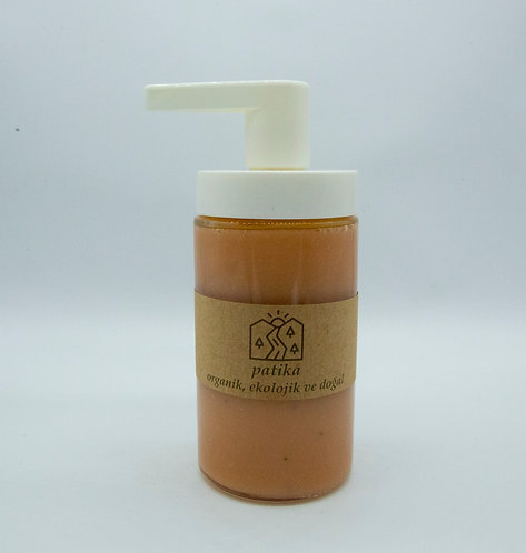 Doğal yağlardan el yapımı sıvı sabun