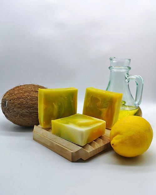 Doğal Limon yağlı sabun