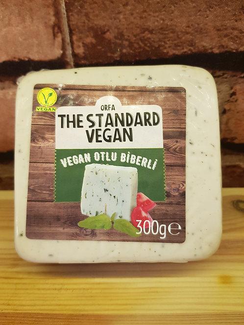 Orfa Vegan Otlu Biberli Peynir 300 gr.