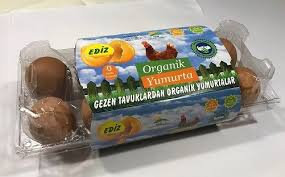 Ediz Organik yumurta 10 lu.