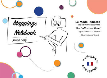 Notebook for Lefty: The Indicative Mood: 105 Fundamental French Verbs. Marianne's Alpha Kappa.jpg