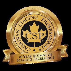 10 year alumni badge from CSP
