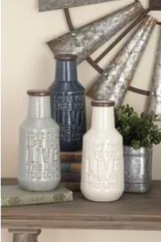 Cole&Grey vase set