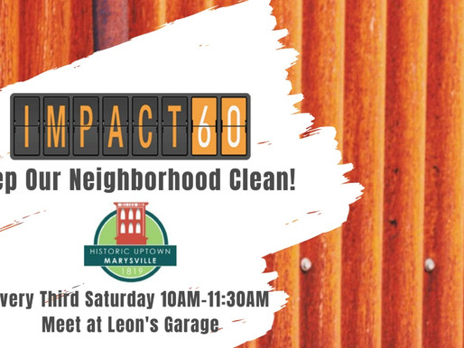 IMPACT60 Creates Monthly Clean-up Days