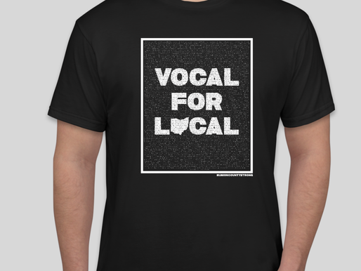 T-Shirt Campaign Encourages Residents to Be Vocal for Local!