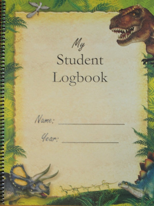 My Student Logbook:   Dated 2021-2022 School Year - Dinosaurs