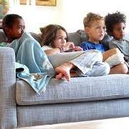 Children watching videos