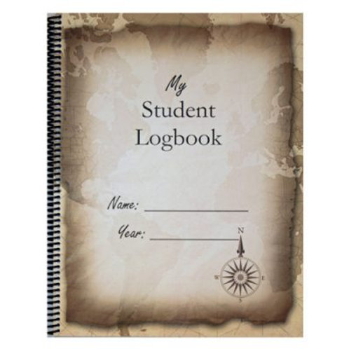 My Student Logbook:  Dated 2020-2021 School Year - Vintage Map