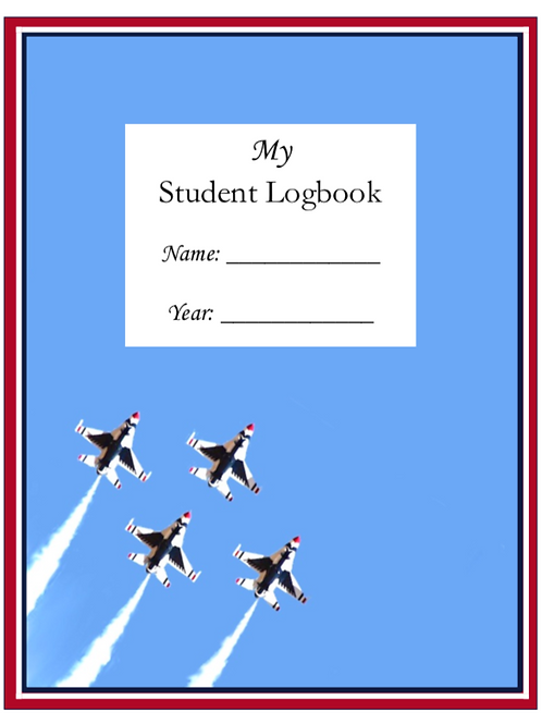 My Student Logbook: Dated 2020-2021 School Year - Thunderbirds