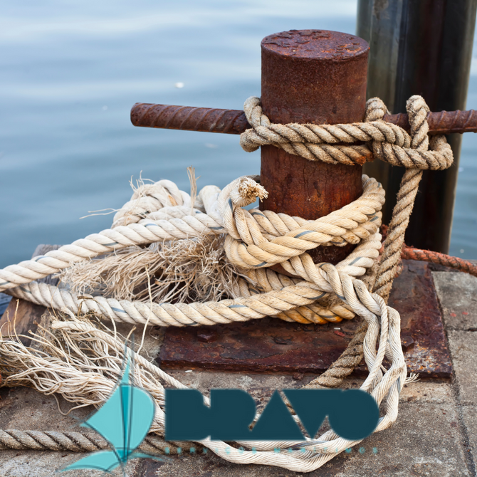 Os cabeços de amarração marítimos