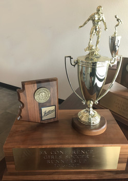 Runner-Up Trophy 2016-17