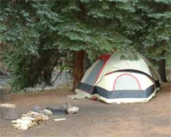 Riverside Tent Camping
