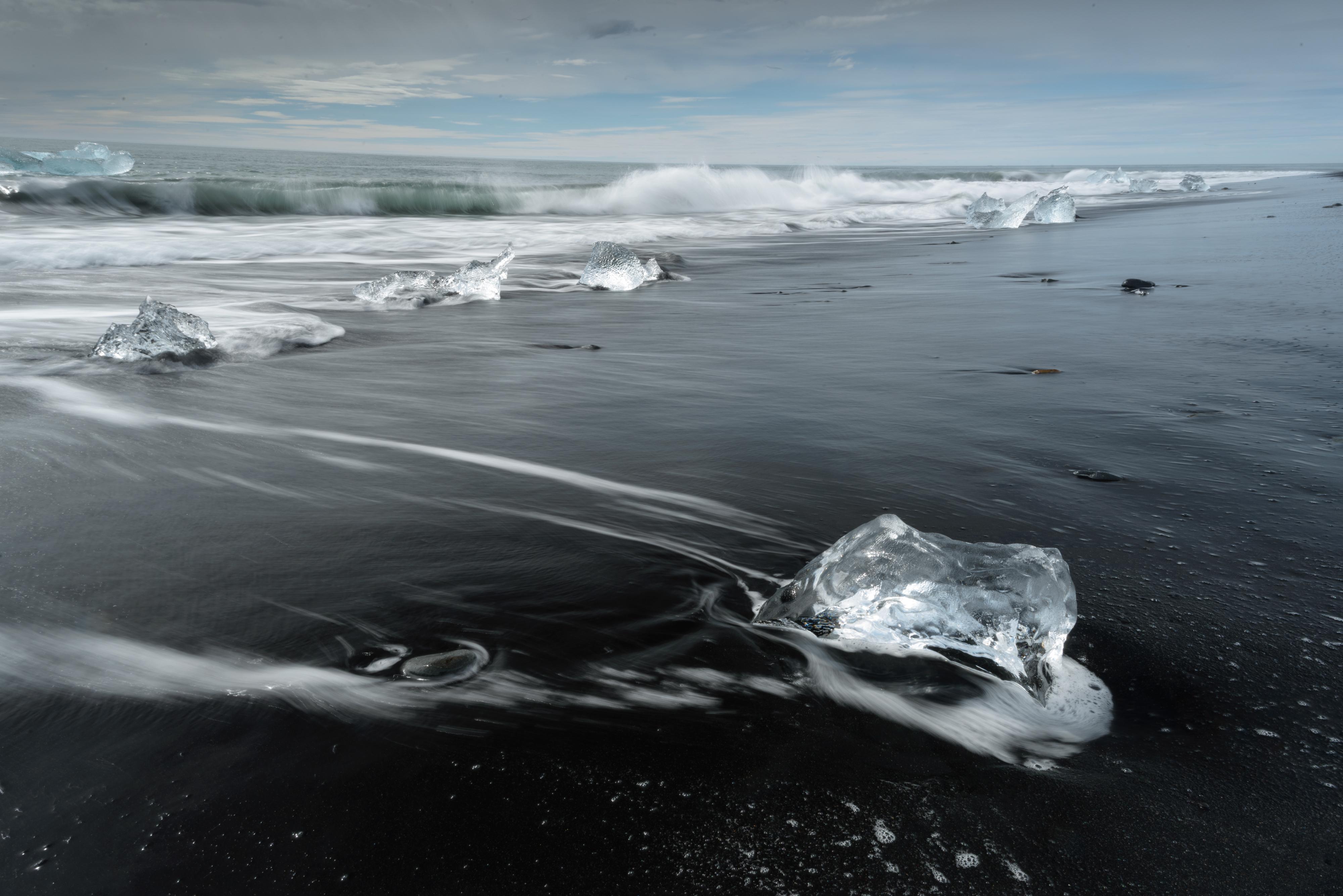 Jokulsarlon beach (Iceland)