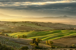 Dawn at the Belvedere (Tuscany)