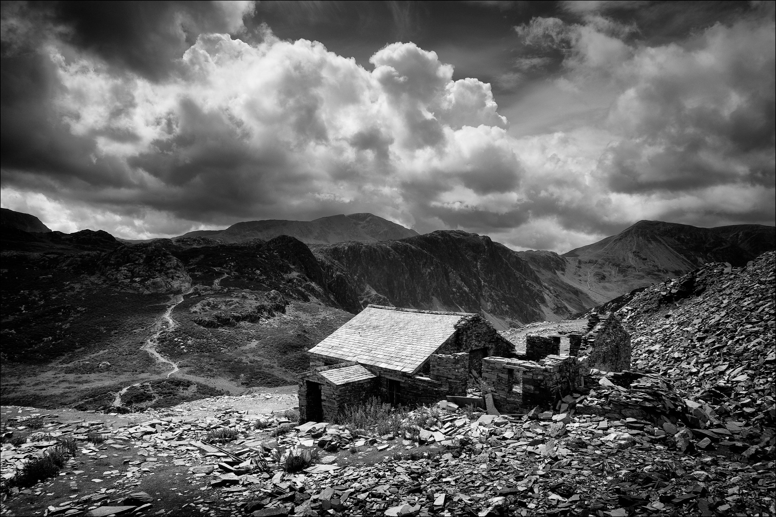 Dubs quarry and Haystacks