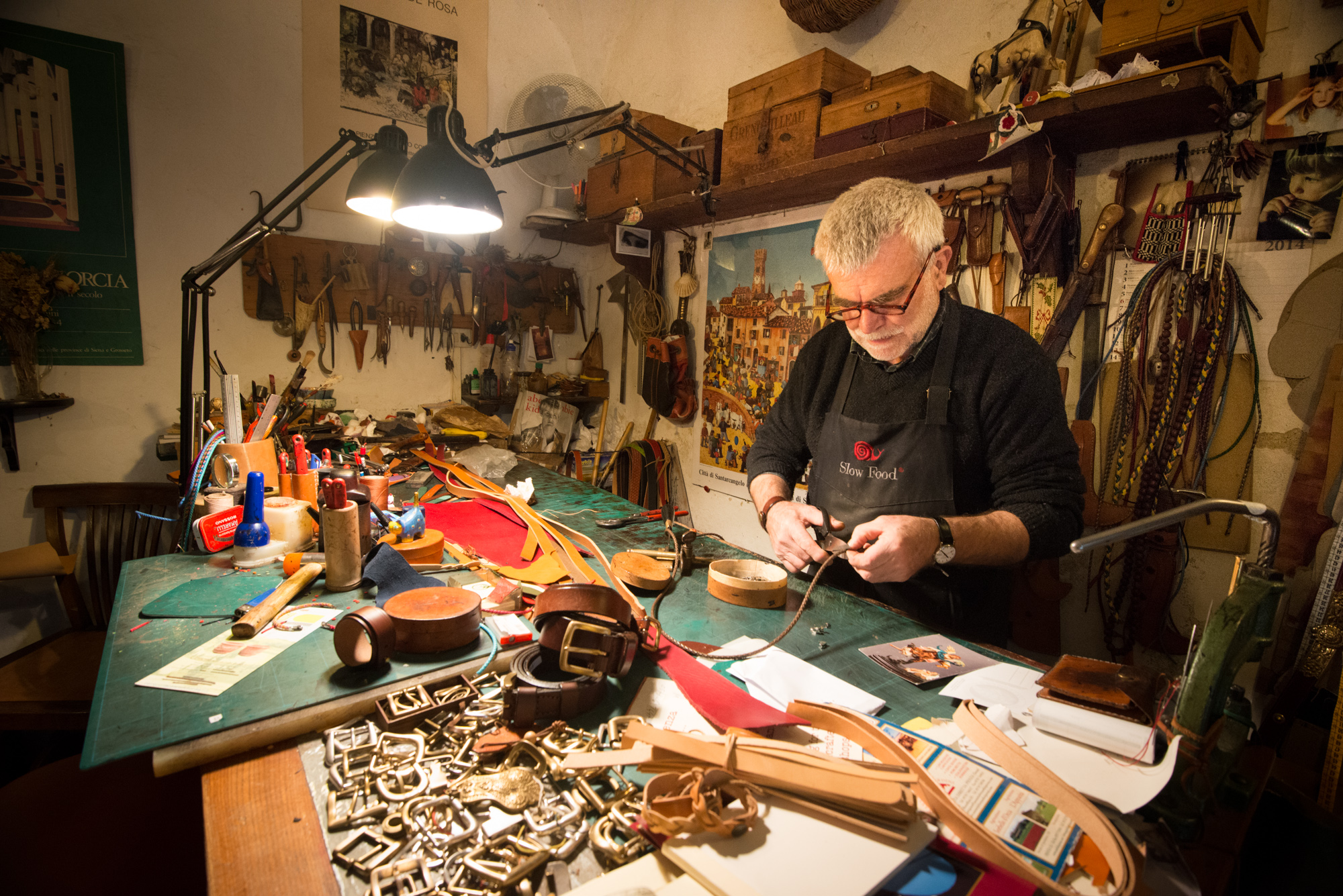 The leatherworker (Tuscany)
