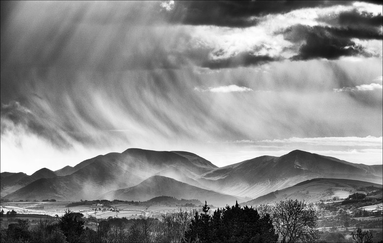 Crepuscular rays over Grisedale Pike.jpg